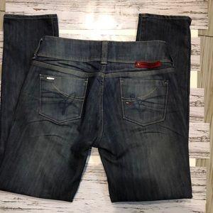 Tommy Hilfiger women's Alyssa extra slim jeans 30